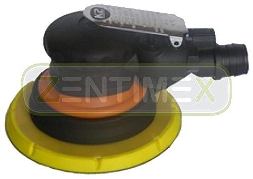 Profi-Exzenterschleifer Druckluft + Zubehör Vibrationsschleifer pneumatisch 10000U/min 6+1 LOCH Ø 150mm Polierer Multischleifer Schleifmaschine 1Stk.
