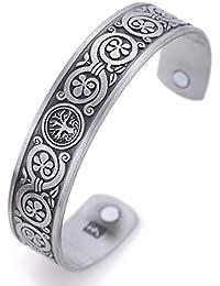 5739a7299ef3 VASSAGO Pulsera magnética diseño de árbol de la Vida Antiguo nordico