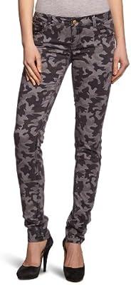 Only - Pantalón skinny fit con estampado para mujer