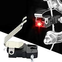 Ballylelly Luz de Freno de Bicicleta en Forma de V C Forma de Seguridad de Freno Bicicleta de Carretera de Advertencia Luces LED Plegable de MTB Ciclismo Adecuado de Control automático