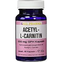 Preisvergleich für Gall Pharma Acetyl-L-Carnitin 250 mg GPH Kapseln, 1er Pack (1 x 50 g)