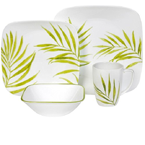 corelle-16-piece-vitrelle-glass-bamboo-leaf-chip-and-break-resistant-dinner-set-service-for-4-green