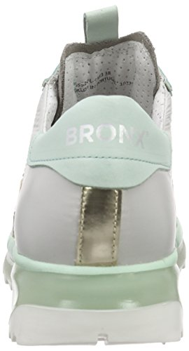 Bronx - Brodax, Scarpe da ginnastica Donna Mehrfarbig (1563 L.grey/mint)