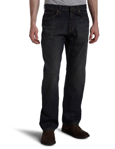 CALVIN KLEIN JEANS MEN'S JEANS STRAIGHT FIT SODIUM BLUE DARK WASH 36X32  available at amazon for Rs.3849