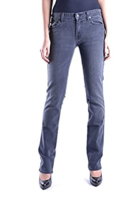 7 For All Mankind Women's MCBI004022O Blue Cotton Jeans