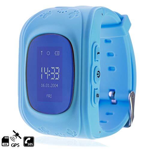 DAM TEKKIWEAR. DMW007BL. Smartwatch GPS Q50 Especial para Niños, con Función De Rastreo, Llamadas Sos Y Recepción De Llamada. Especial para Niños, Función De Rastreo. Llamadas Sos 3 Nº. Azul