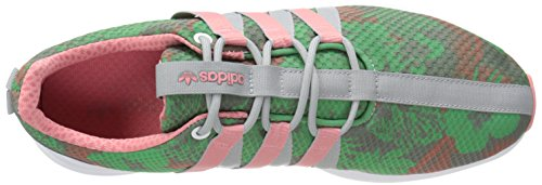 Adidas Super Light Loop Racer Green Womens Trainers - C77537 White/Blush Green/Vista Pink