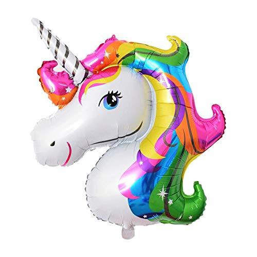 Rak Mark Pack 6 Globos Unicornio Arcoiris Fiesta Infantil Princesa 40 x 28