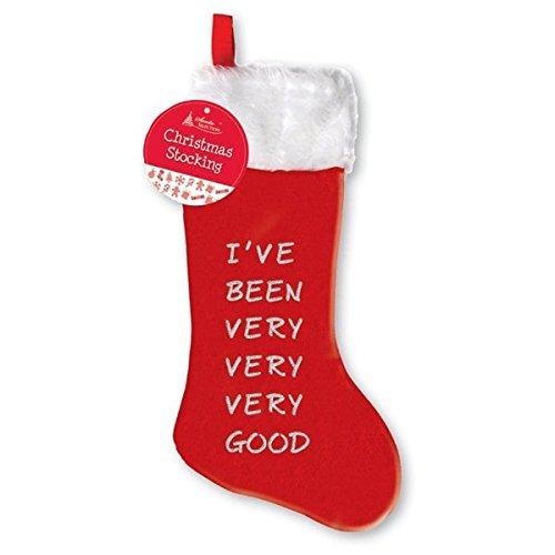 Fancy Classic Collection 'ive sido muy buena' calcetín de Navidad 75x 26cm