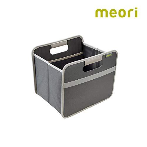 Faltbox Small Home Collection Granite Grey / Uni 32x26,5x27,5cm Polyester Wäsche Regale Kuscheltiere mit Griffen Verstauen Räumen Regal