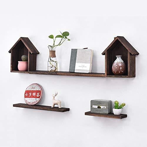 Kitchen furniture - Support de fond de décoration de mur d'étagère de partition de cabine en bois solide pour la chambre à coucher de salon WXP (Couleur : B)