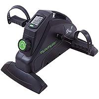 Tunturi Cardio Fit M35 Mini Bike Heimtrainer / Pedaltrainer / Arm- und beintrainer / Minifahrrad / Bewegungstrainer für senioren mit Magnetbremssystem und LCD-Bildschirmanzeige - Schwarz