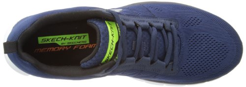 Skechers Synergy Power Switch, Chaussons Sneaker Homme Azul (NVBK)