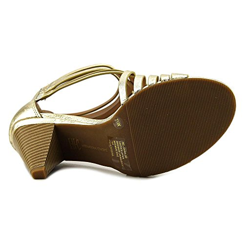 INC International Concepts Garoldd Large Cuir Sandales gold
