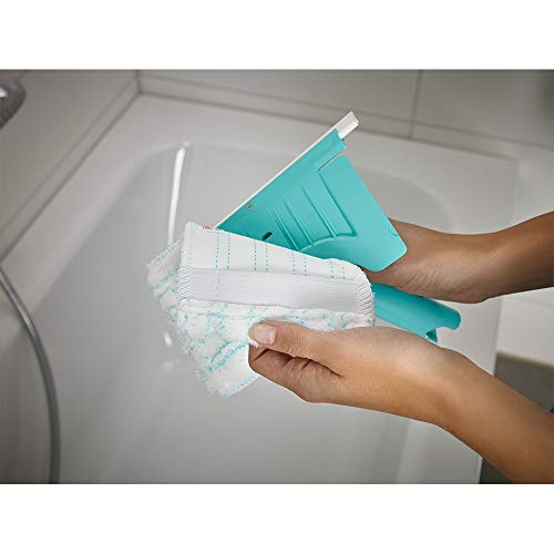 Leifheit Flexipad - Mopa para Azulejos con Palo telescópico, Color Verde