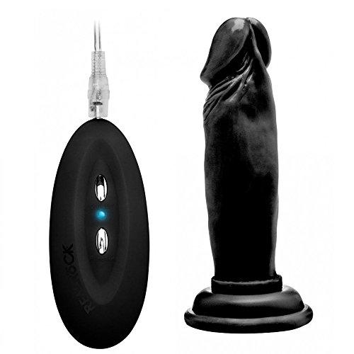 Preisvergleich Produktbild Real Rock 007100% REALISTICO Vibrator schwarz 15cm