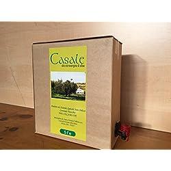 olio extravergine di oliva biologico in bag-in box