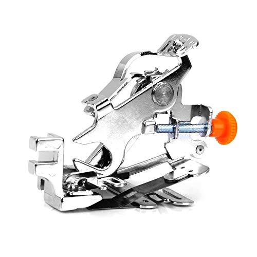 Universal-Ruffler Fuß Haushalts Ruffler Nähfuß Low Shank Plissee Nähmaschine Ruffler Befestigung Nähfußes zu Hause Nähmaschine Teile Ruffler Low Shank (Ruffler Nähmaschine Fuß)