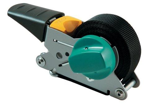 Wolfcraft 3683000 - Tensores de cinta de carraca, con mecanismo de rebobinado (fuerza de sujeción 100 kg) 4 m