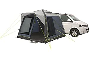 Outwell Milestone Pace Air Tent grey/blue 2018 tube tent