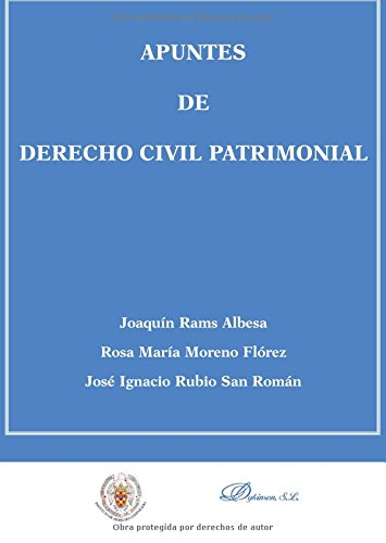 Apuntes de Derecho Civil Patrimonial