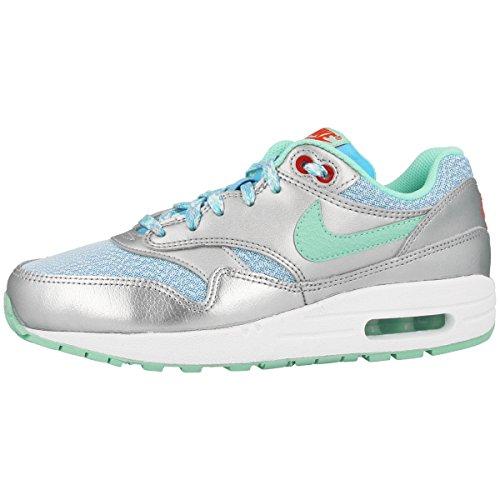 Air Max Silber Nike (Nike Unisex Air Max 1 (GS) Schuhe)
