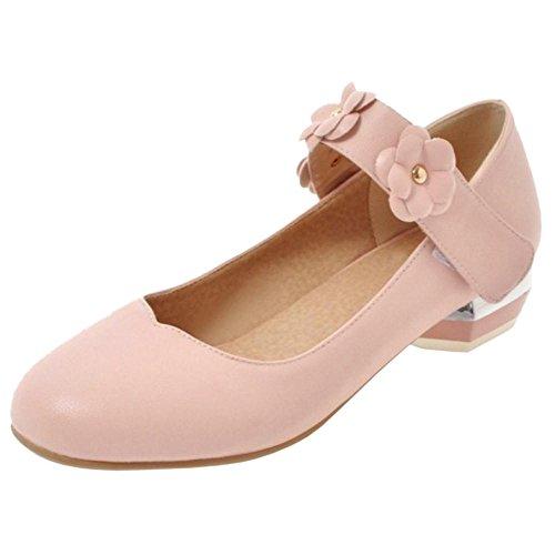 Rond Coolcept Bout Femmes pink Escarpins 6UUfEqwX