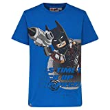 LEGO Jungen T-Shirt Lego Movie Batman CM-50277-T-SHIRT, Blau (Blue 563), (Herstellergröße: 116)