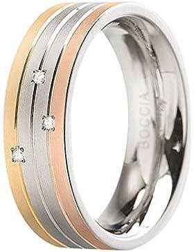 Boccia Damen-Ring Titan Diamant (0.03 ct) weiß Brillantschliff - 0135-02