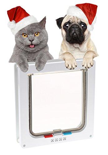 Mikrochip Katzenklappe Cat Mate Katzenklappe mit 4 Verschlus...