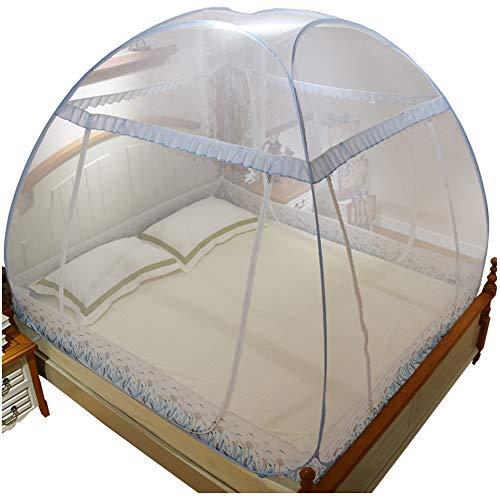 YXQ * Mosquitera: no es necesario instalar yurtas. Redes domésticas compartidas con engrosamiento de espesamiento de la puerta. Adecuada para cama de 3.3 pulgadas. Adecuada para cama de 4 pulgadas. Ap