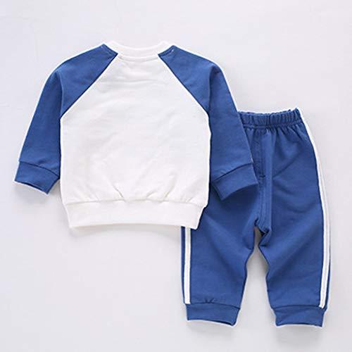 Blau Muskel Kind Kostüm - Isshop Baby Kostüm Kind Kind Baby Jungen Mädchen Langarm Pullover Freizeitbekleidung Sport Outfits Set Casual Comfort Set für Jungen und Mädchen