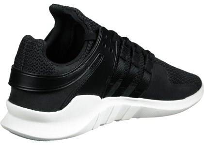 adidas Equipment Support Advanced, Sneakers Basses Homme, Bianco black/power blue
