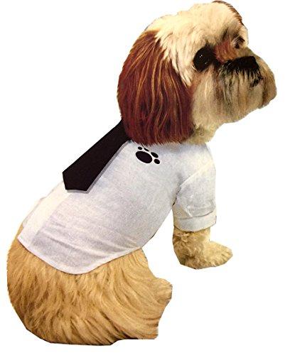m Tie Shirt Clothes Fancy Dress Up–Puppy Baumwolle Kleidung Kostüme (Zwei Stück Superman Kostüm)