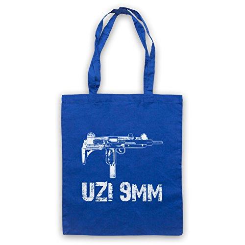 Uzi 9mm Gun Cape Tasche Blu