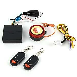 Ardisle Pour Moto Scooter-Alarme détecteur de mouvement dispositif d'immobilisation de démarrage à distance