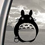 TOTORO Black Decal Ghibli Laputa Jdm Anime Window Sticker