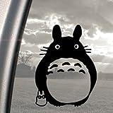 Totoro Ghibli Laputa Jdm Fensteraufkleber, Schwarz, Motiv Anime-Design