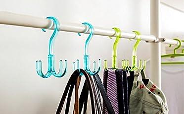 BUCKLE UP Plastic Multipurpose Hanger, Multicolour