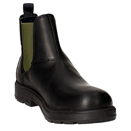 Wrangler WM162030 Boots Homme Cuir Black Military