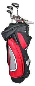 Ultrasport Set de golf complet 11 clubs / Sacoche
