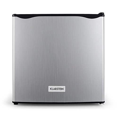 Klarstein Garfield -Congélateur mini, De forme carré, 4 étoiles,35 litres,65W,Classe A+, entre -18 et -24 °C,argent