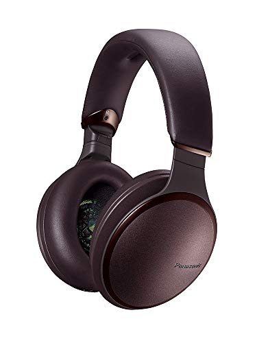 Panasonic RP-HD605NE-T Noise Cancelling Kopfhörer Bluetooth (Sprachsteuerung, ANC Kopfhörer, bis 20 h Akkulaufzeit, Over-Ear) braun (Panasonic Usb-headset)