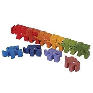 Legler Caravan of Elephants Preschool Learning Toy
