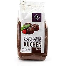 BodyChange Schoko Kuchen Backmischung - 240g - glutenfrei, ohne Weizen, sojafrei, laktosefrei