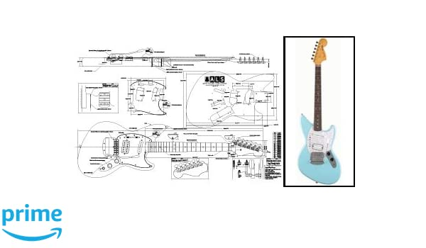 Plan of Fender JagStang Electric Guitar - Full Scale Print ... Fender Jagstang Wiring Diagram on kay guitar wiring diagram, epiphone les paul wiring diagram, gibson explorer wiring diagram, ibanez bass wiring diagram, gibson sg wiring diagram, gibson les paul standard wiring diagram, esp ltd wiring diagram,