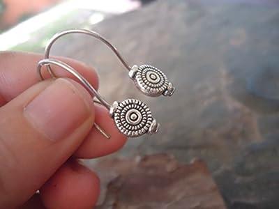 ? Spirale BOHO ETHNO MIAO ? tranche - boucles d'oreilles