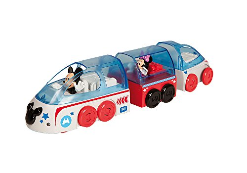 IMC Toys- Mouse Train RC Musical de Mickey-Disney, 181946
