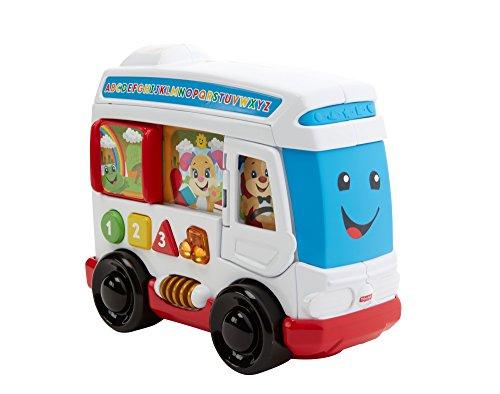Mattel Fisher-Price FKF05 - Lernspaß Hündchens Stadtbus