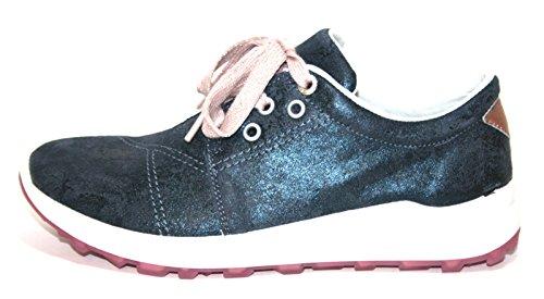 Superfit 7-00153-88 Mädchen Sneakers Blau (Water Kombi 88)